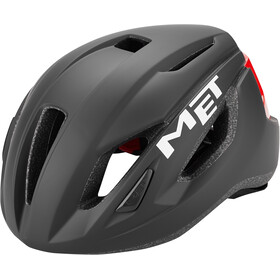 MET Strale Casco, black/red